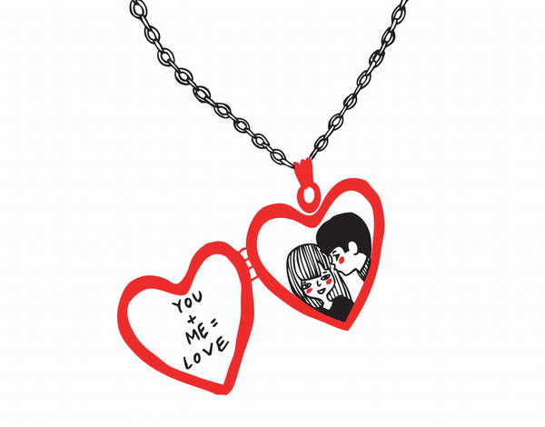 Love Locket Card