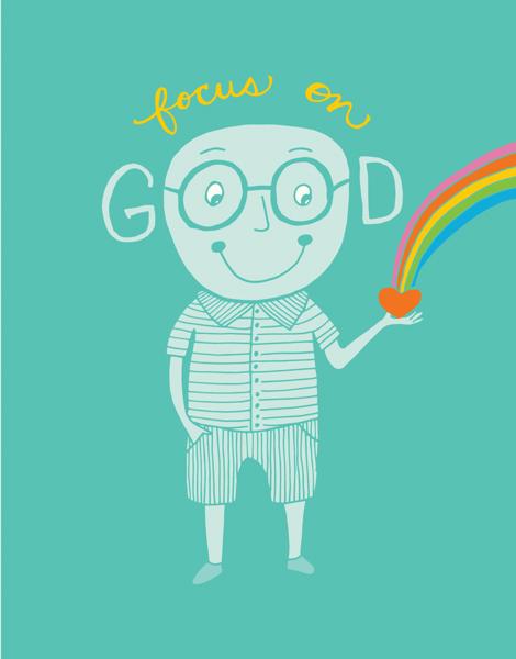 Whimsical Focus on Good Friend Card