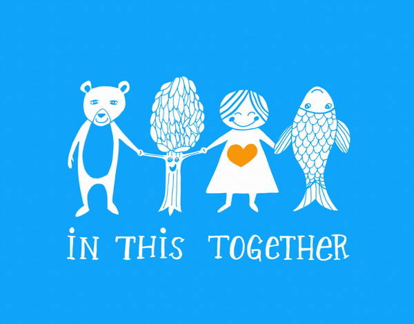 In This Together Friend Card