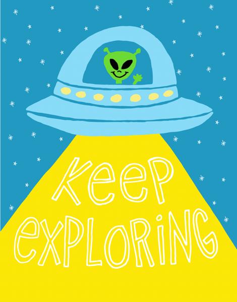 Keep Exploring