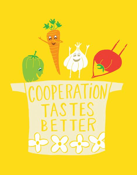 Cooperation Vegetables