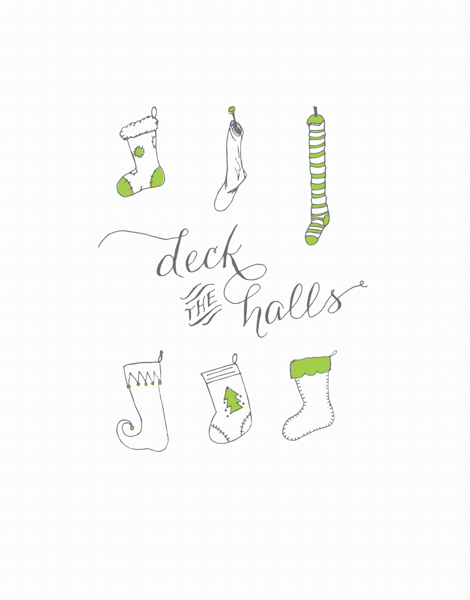 Deck The Stockings