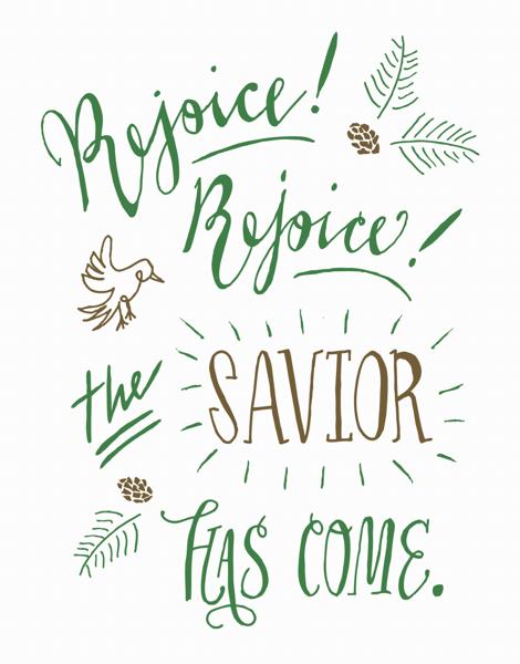 Rejoice! Rejoice!