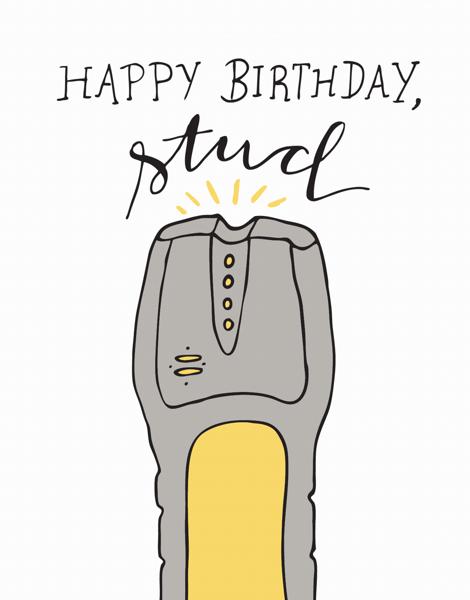 Happy Birthday Stud
