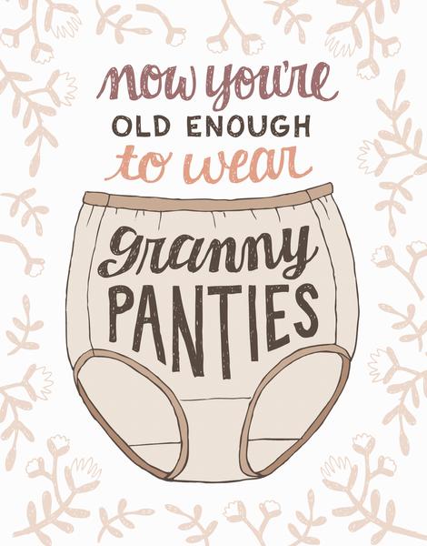 Granny Panties