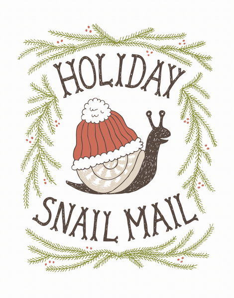 Holiday Snail