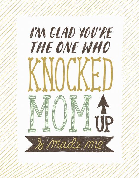 Knocked Up Mom