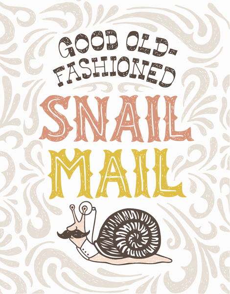 Old Fashioned Snail Mail
