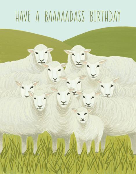 Badass Sheep