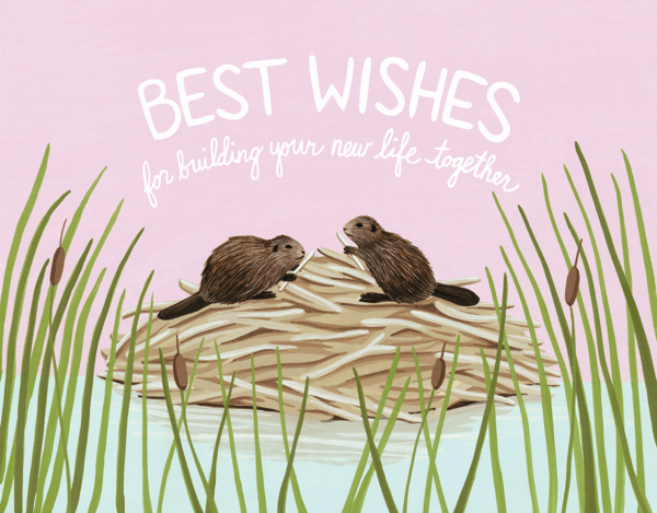 Beaver Best Wishes