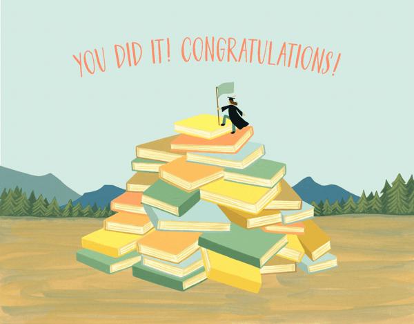Book Mountain Grad