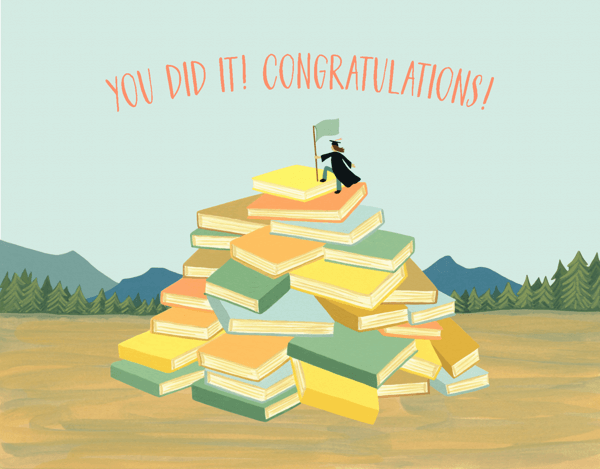 Book Mountain Grad