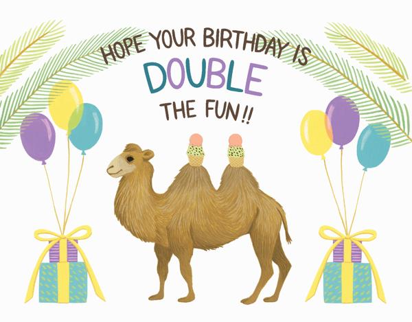 Camel Birthday