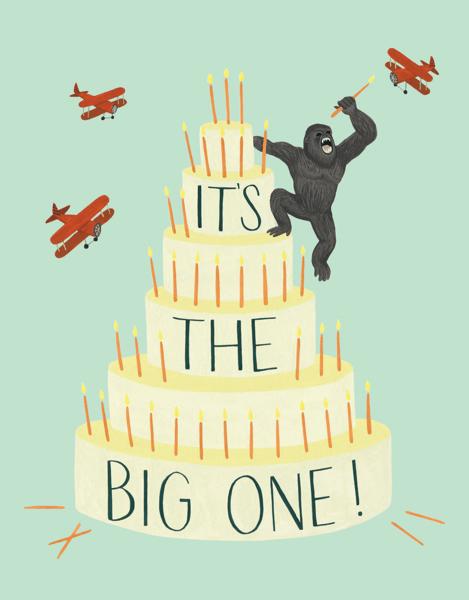 King Kong Cake
