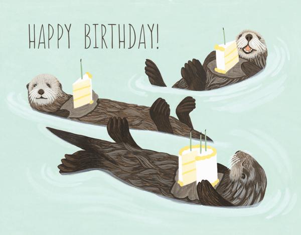 Otter Birthday