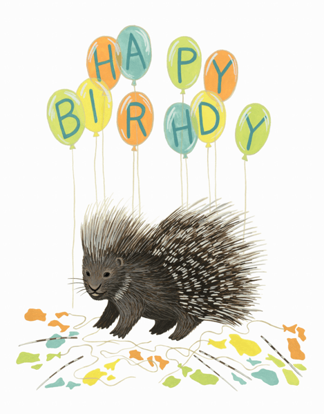 Porcupine Balloons
