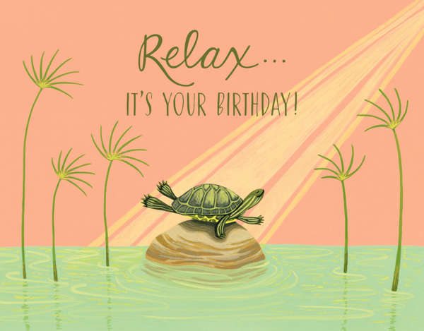 Relaxing Turtle