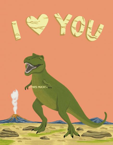T-Rex Love