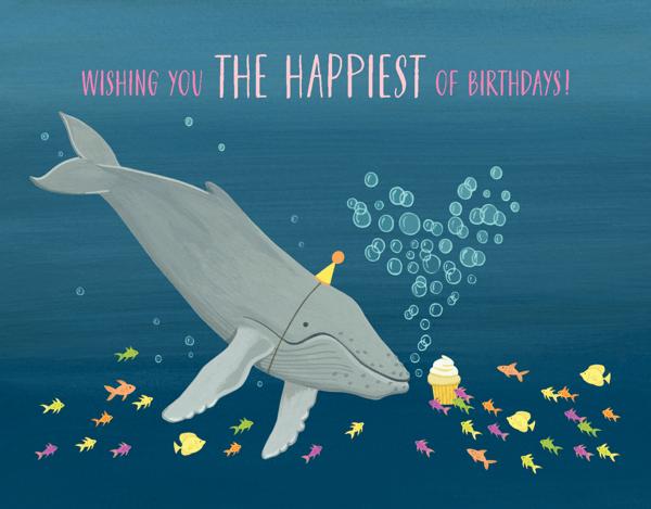 Whale Birthday