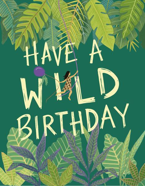 Wild Birthday Girl