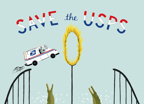 Save The USPS Hoop