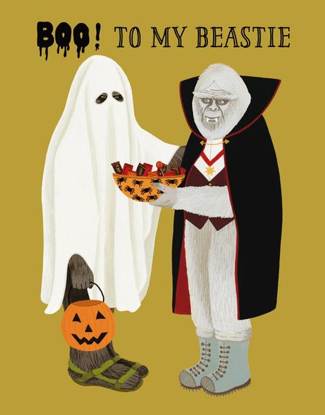 Beastie Halloween