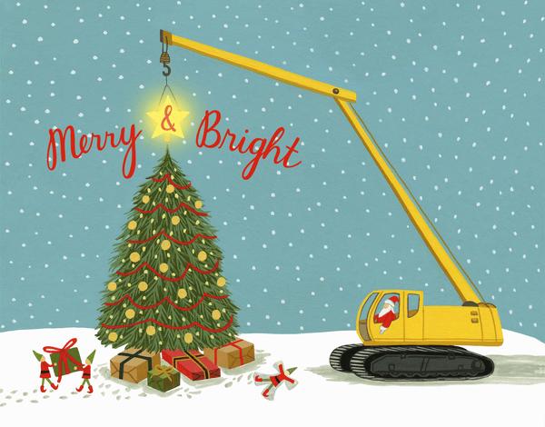 Construction Santa