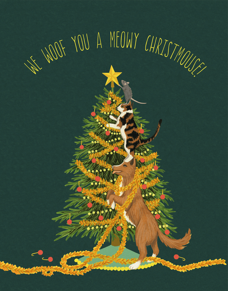 Meowy Christmouse