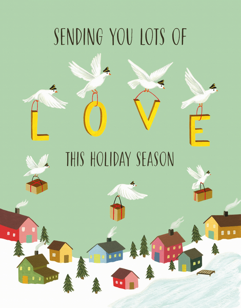 Sending Holiday Love