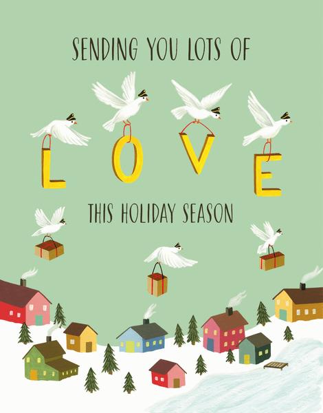 Sending Holiday Love