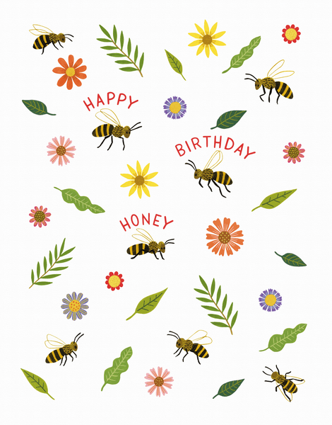 Honey Bee Birthday