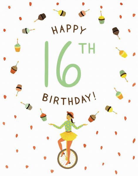Juggler 16th Birthday
