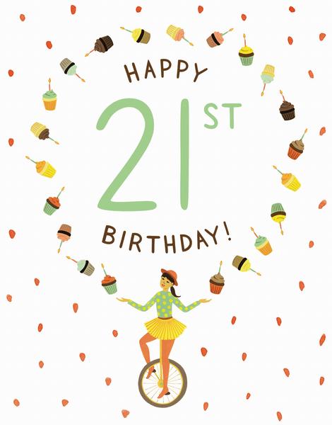 Juggler 21st Birthday