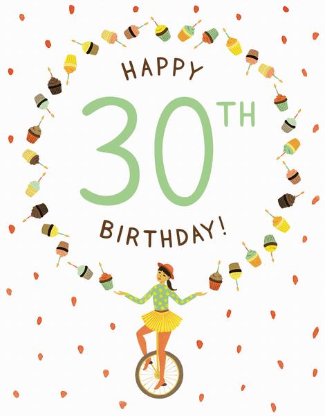 Juggler 30th Birthday