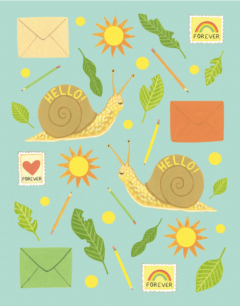 Snail Mail Hello