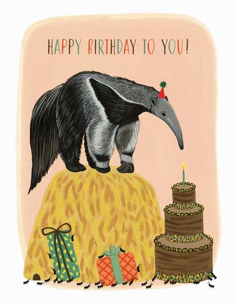Anteater Birthday