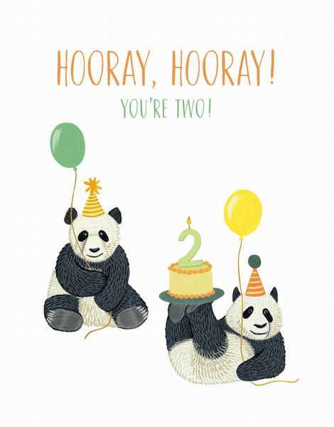 Panda Second Birthday