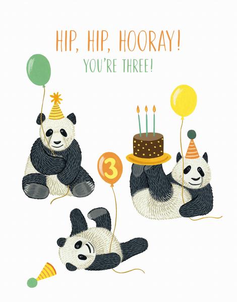 Panda Third Birthday