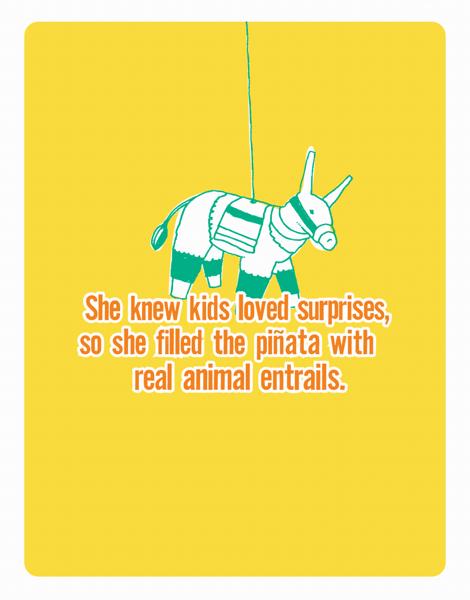 Bright Pi–ata Everyday Card